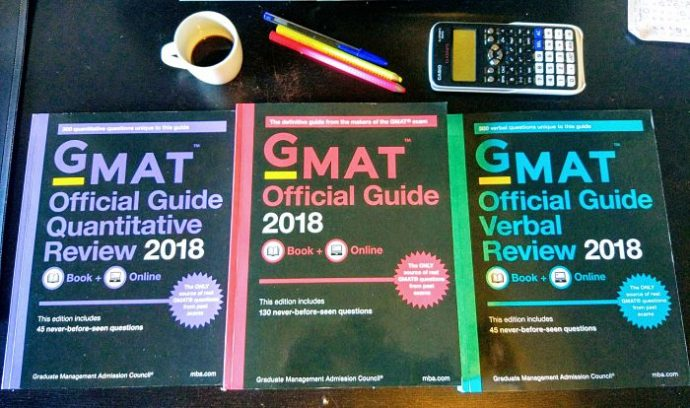 gmat examen 600 700 business school