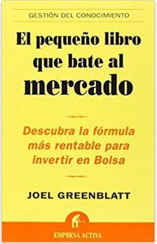 pequeño libro bate mercado joel greenblatt