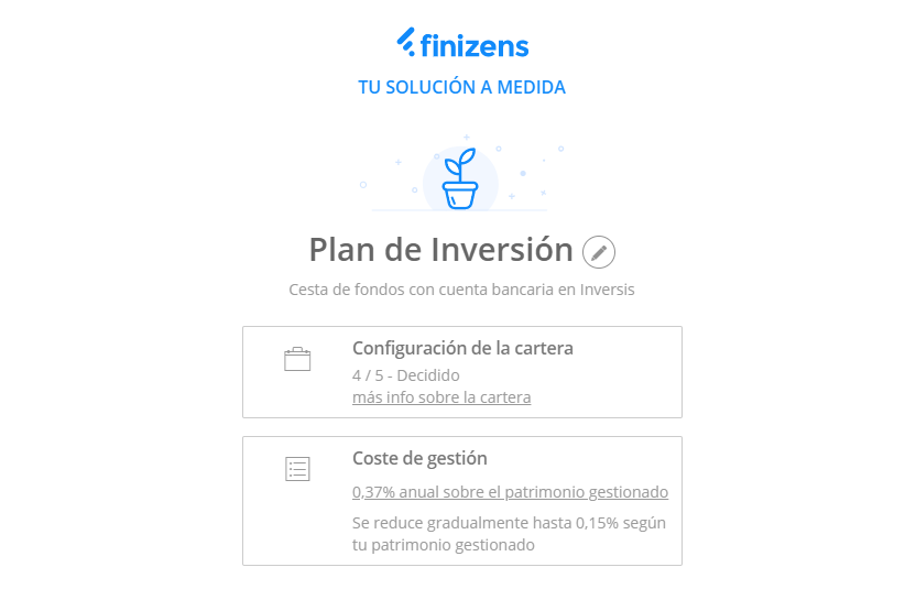 finizens plan inversion